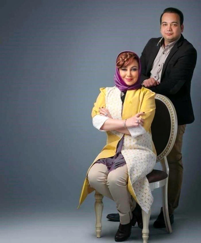 بهنوش بختیاری در بغل مدیر برنامه اش + عکس